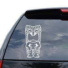 For Tiki Totem Pole Hawaii Decal Sticker Car Truck Motorcycle Window Ipad Laptop Wall Decor Various Sizes Aliexpress
