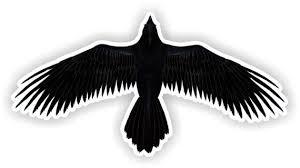 Raven Vinyl Decal Etsy