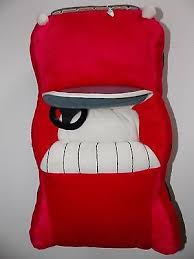 Red Car Shaped Pillow Transportation Kids Room 17 Novelty Accent Home Decor Ebay