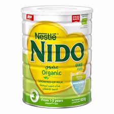 nestle nido one plus organic growing up