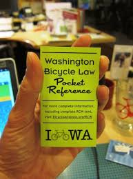 bicycle laws safety revised code of