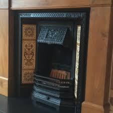 cast iron fireplace restoration