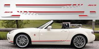 Mazda Miata Mx 5 Nc Kuro Special Edition Decal Graphic Stripe Garage