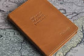 leather world travel journal