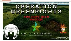 Anonymous, attacco al sito web del Ministero ambiente. Ecco cosa è ...