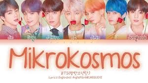 bts 방탄소년단 mikrokosmos 소우주 color coded lyrics eng