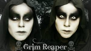 grim reaper makeup you