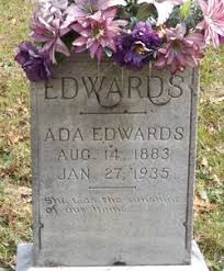 Ada Eskridge Edwards (1883-1935) - Find A Grave Memorial