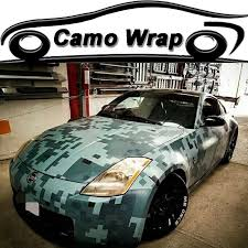 Army Green Car Film Wrap Digital Camouflage Vinyl Film With Air Bubble Free Military Green Car Decal Pixel Wrapping Foil Camouflage Vinyl Film Vinyl Filmcar Sticker Aliexpress