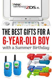 six year old boy with a summer birthday