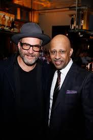 From left, filmmaker Adam Davidson and creator/performer Ruben ...
