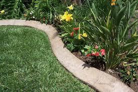 diy concrete garden edging my garden