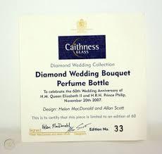 diamond wedding perfume bottle by