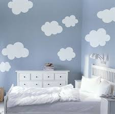 Fluffy Clouds Vinyl Wall Stickers Nice For A Child S Room Cloud Nursery Decor Baby Boy Rooms Cloud Wall Decal