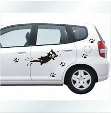 Free Shipping Cartoon Cat Car Decal Sticker Auto Decals Side Common Use Funny Cat High Quality Stickers Dsi Sticker Borderstickers Music Aliexpress