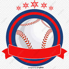 Vector Hand Painted Baseball Icon Baseball Vector Icon Vector