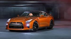 2017 nissan gtr orange hd cars 4k