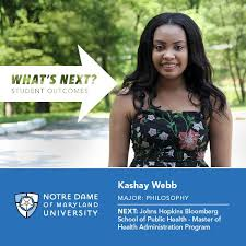 It's What's Next Wednesday! Today we're... - Notre Dame of Maryland  University | Facebook