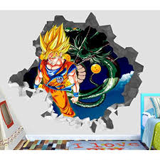 Dragon Ball Wall Decals Super Mario Vinyl Target Amazon Z Art Hero Nz Odyssey Giant Vamosrayos