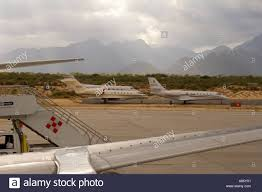 Planes at Cabo San Lucas Airport Mexico Stock Photo - Alamy