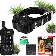Waterproof Wireless Electric Dog Fence Pet Collar Dog Training Obedience Sale