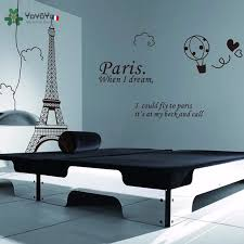 Yoyoyu Wall Decal Vinyl Room Decoration Paris Eiffel Tower Bedroom Home Decor Removable Wall Sticker Art Mural Poster Yo575 Wall Sticker Removable Wall Stickerswall Decals Aliexpress