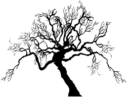 Amazon Com Scary Spooky Tree Branches Wall Decal Halloween Theme Tree 65in Tall X 84in Wide Ac221s Home Kitchen