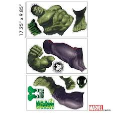 Hulk Interactive Wall Decal Experience Toys And Games