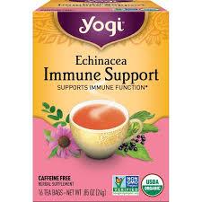 yogi tea echinacea immune support 16