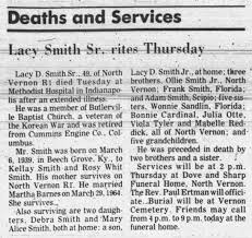 Lacy Smith Obituary - Newspapers.com