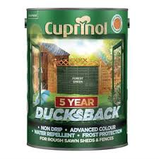 Cuprinol 5 Year Ducksback Forest Green Buy Oil Lubricants Greases And More From Smith And Allan