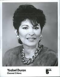1990 Press Photo Ysabel Duron,TV news anchor ,WMAQ-TV Chicago | Historic  Images