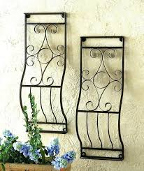 metal garden wall art outdoor