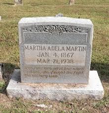 Martha Adela Martin (1867-1938) - Find A Grave Memorial