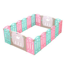 Bopeep Kids Playpen Baby Safety Gates Kid Play Pen Toddler Fence Room 14 Panels Little Kids Business
