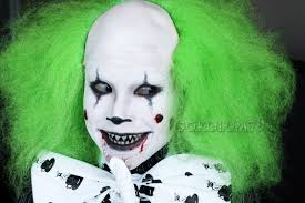make scary clown makeup for saubhaya