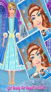 ice princess makeover salon ice frozen