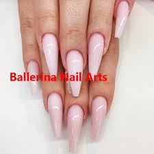 Ballerina nails on trend-1   Ballerina nails, Ballerina nails ...