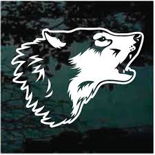 Wolf Car Decals Stickers Decal Junky