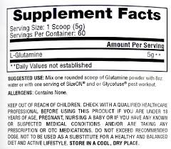 l glutamine pure unflavored 300 grams