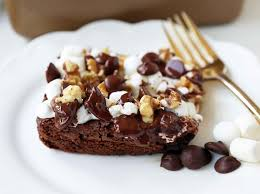 rocky road brownies modern honey