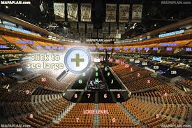 boston td garden seat numbers detailed