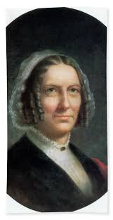 Abigail Fillmore, First Lady Beach Towel for Sale by Science Source