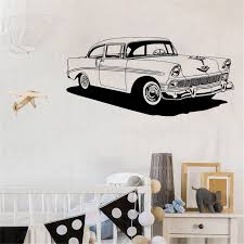 Sport Car Custom Name Vinyl Wall Sticker For Boy Kids Room Wall Decal Stickers Bedroom Vinyl Mural Wl1146 Wall Stickers Aliexpress