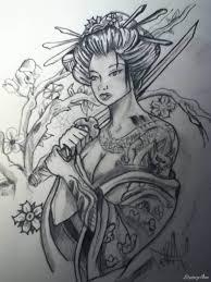 Zmyslowa Geisza Tatuaz Niewidzialny