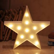 Star Lamp Room Decorations Led Night Light Battery Operated Table For Kids Sale Price Reviews Gearbest