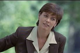 Carey Lowell (ADA Jamie Ross) on Law & Order | Law and order, Police  dramas, Old tv shows