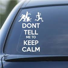 Keep Calm And Carry Decals
