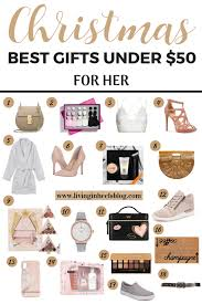 best gifts for her under 50