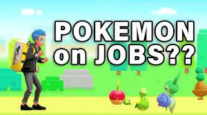 POKEMON CAN HAVE JOBS?? | Poke Jobs ▻ Pokemon Sword & Shield ...